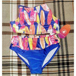 Kids Bathing Suit Two Piece Swimwear for Girls
